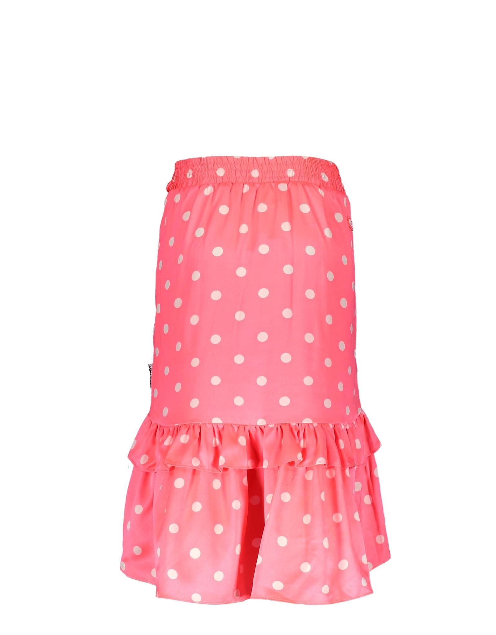 B-nosy Maxi rok roze met stippen
