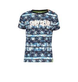 B-nosy T-shirt met palmboomprint Surfclub