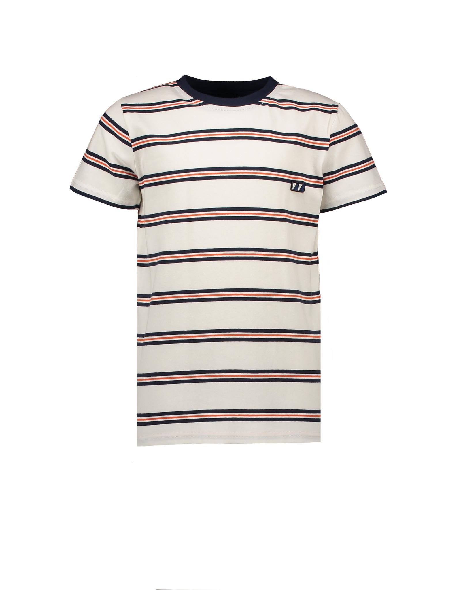 SevenOneSeven T-shirt gestreept