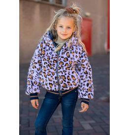 Moodstreet Reversible jas leopard