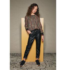 Nobell' Fake leather pants Sis black