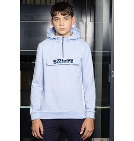 Bellaire Sweater anorak lichtblauw
