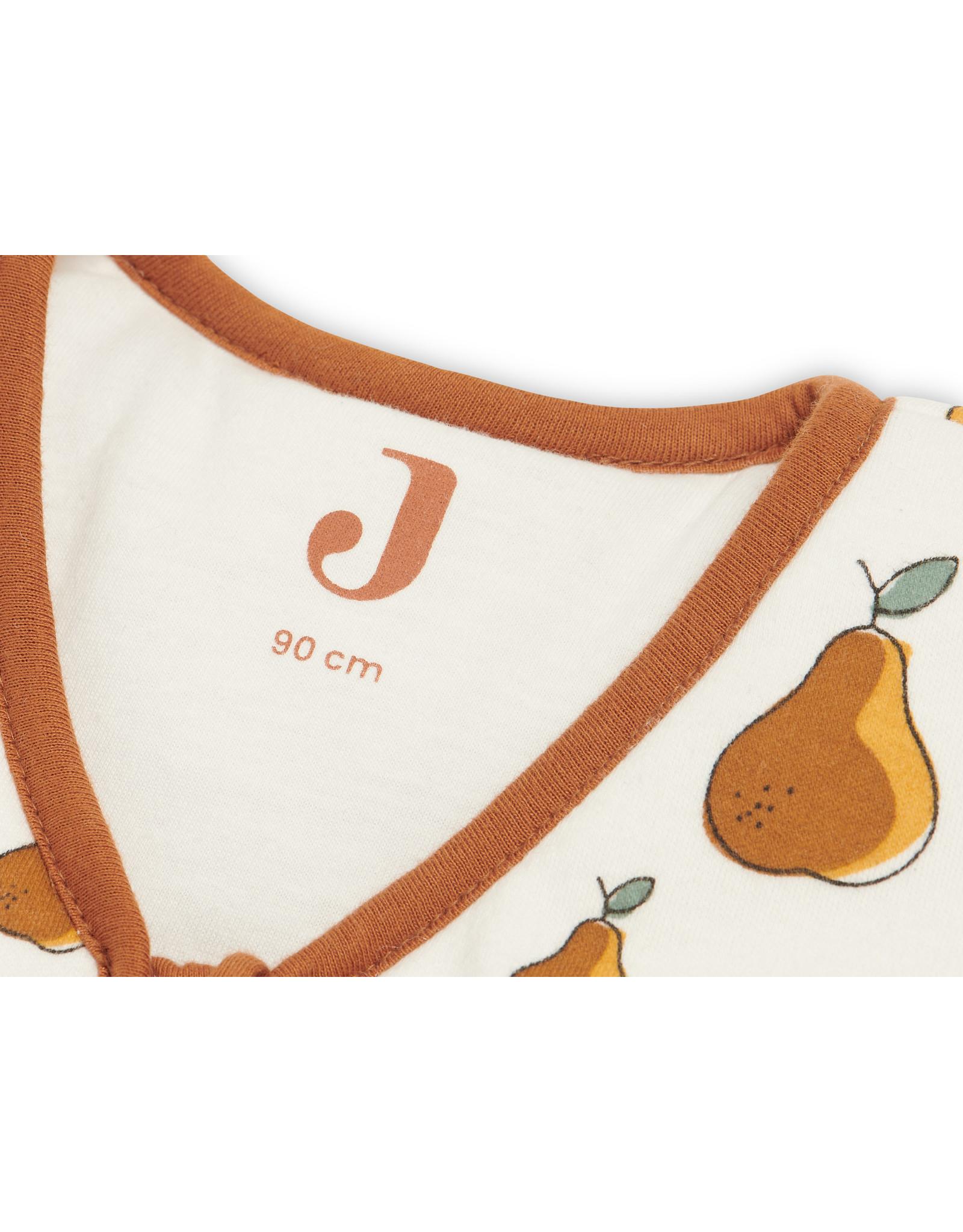 Jollein Baby slaapzak met afritsbare mouw 110cm pear