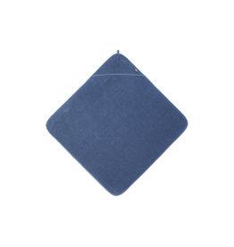 Jollein Badcape blauw 75 x 75cm