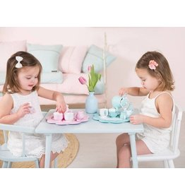 Little Dutch houten thee servies