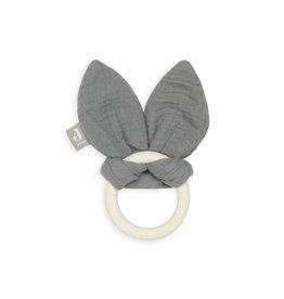 Jollein Bijtring bunny ears  strom grey