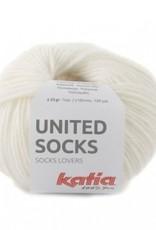 Katia Katia United Socks -   Wit -6-
