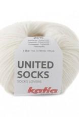 Katia Katia United Socks -  Ecru -5-