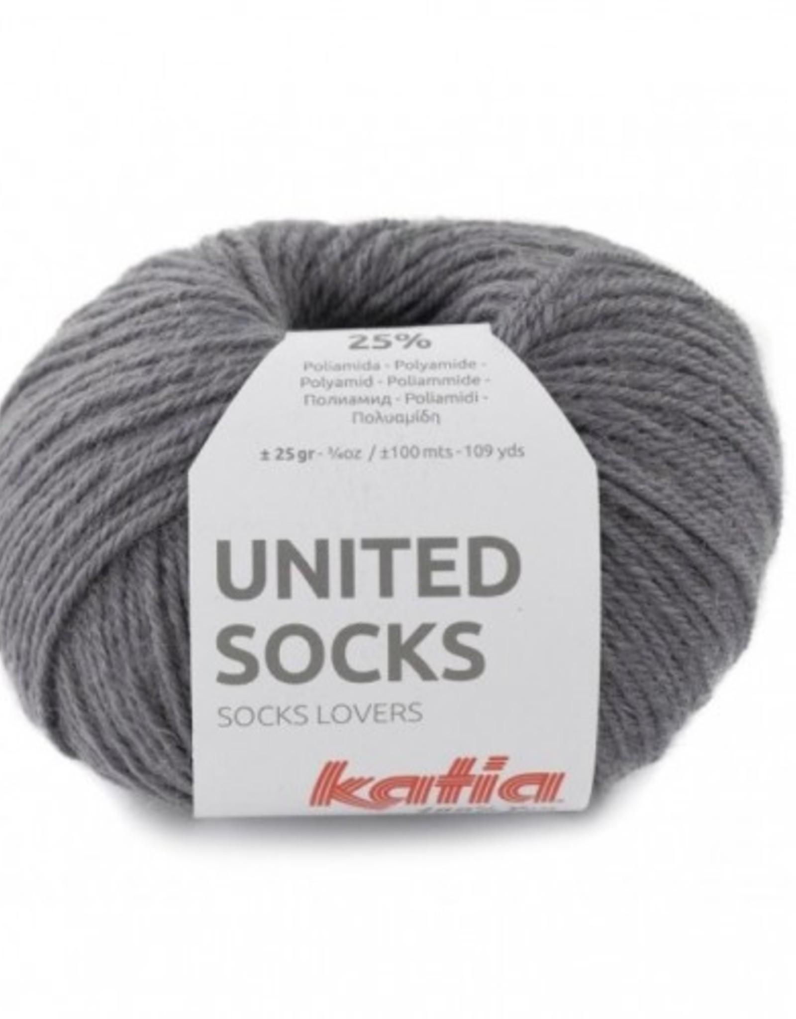 Katia Katia United Socks -  Donker Grijs -9-