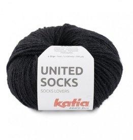Katia Katia United Socks -  Zwart -10-