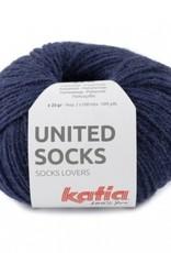 Katia Katia United Socks -  Donker Blauw -11-