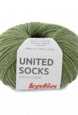 Katia Katia United Socks -  Loofgroen -21-