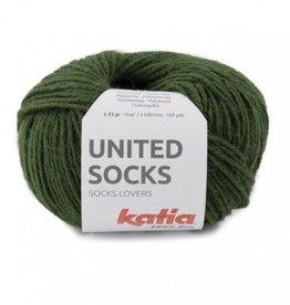 Katia Katia United Socks - Mosgroen -22-