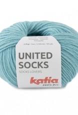 Katia Katia United Socks -  Waterblauw  -24-