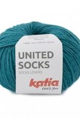 Katia Katia United Socks -  Petrol -23-
