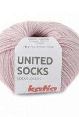 Katia Katia United Socks -  Zacht Roze -14-