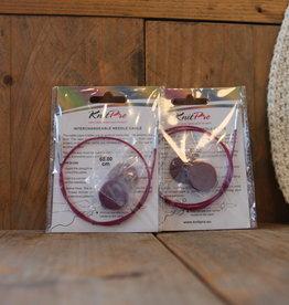 KnitPro KnitPro verwisselbare kabeldraad voor verwisselbare naalden
