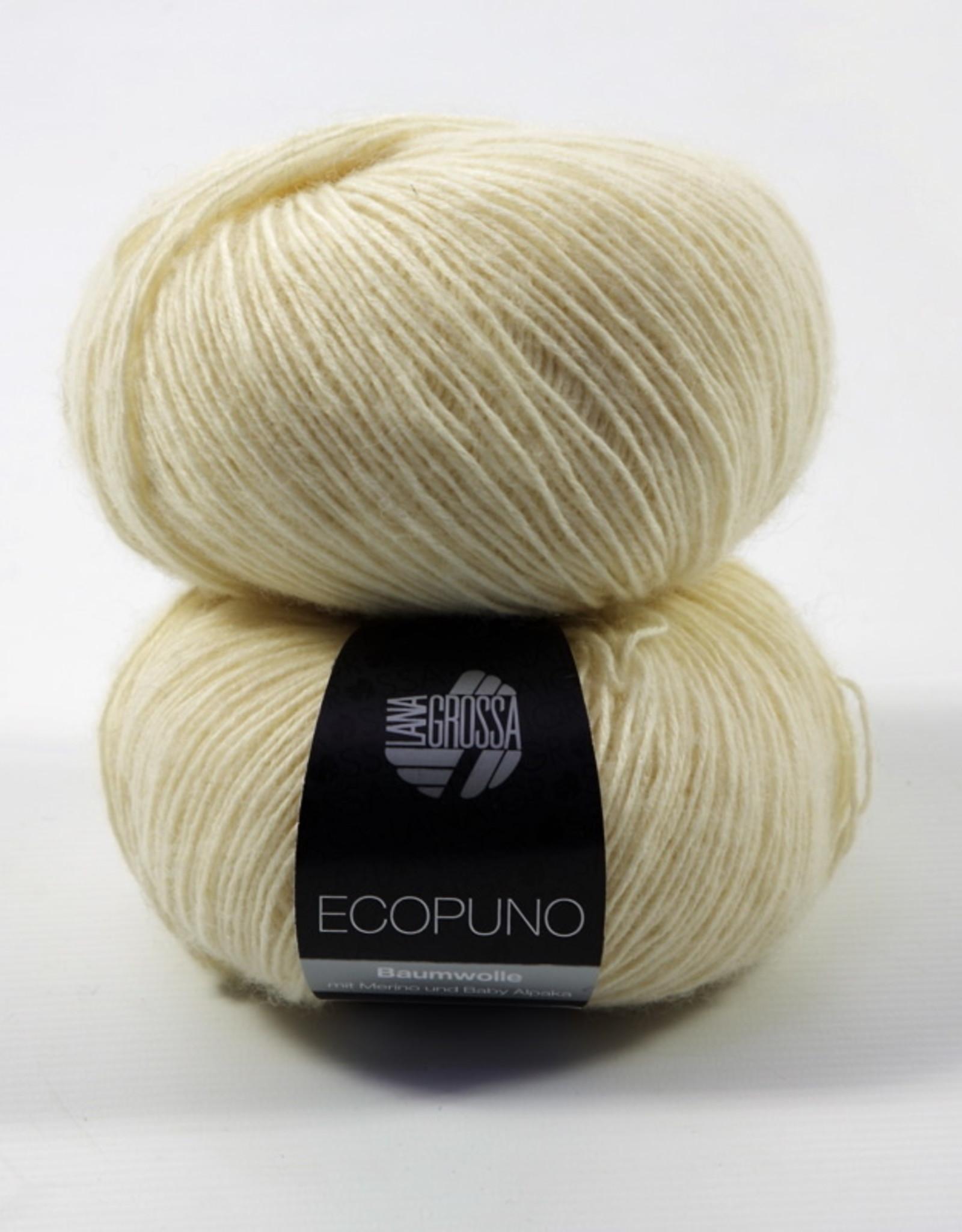 Lana Grossa Ecopuno 046 Crème