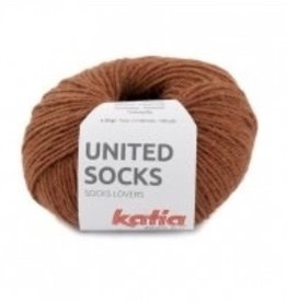 Katia Katia United  Socks   Roestbruin -2-