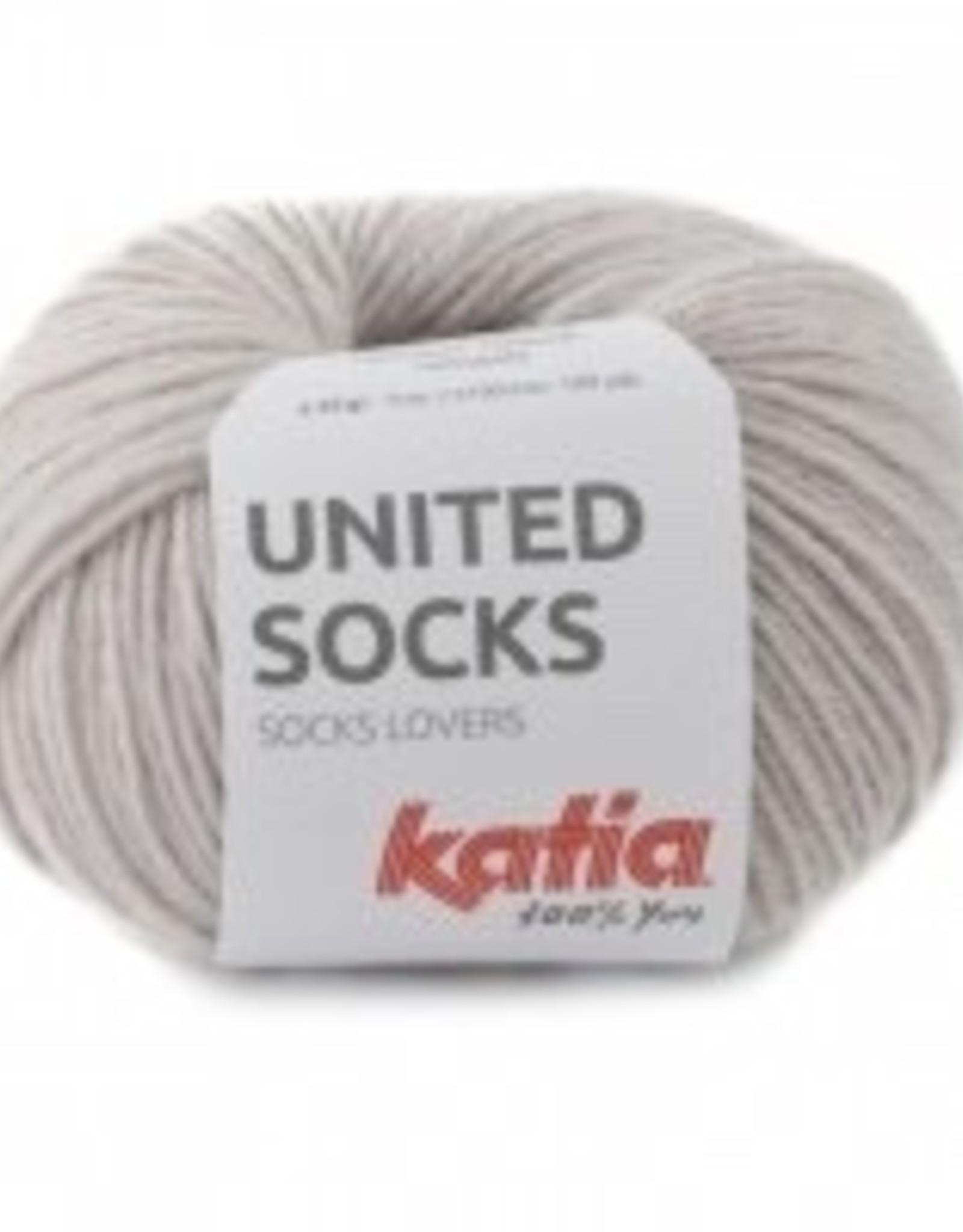Katia Katia United Socks -  Steengrijs -7-