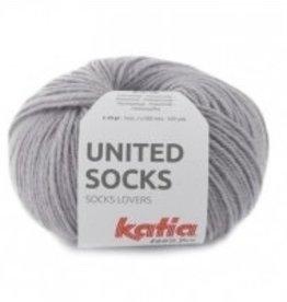 Katia Katia United Socks -  Midden grijs -8-
