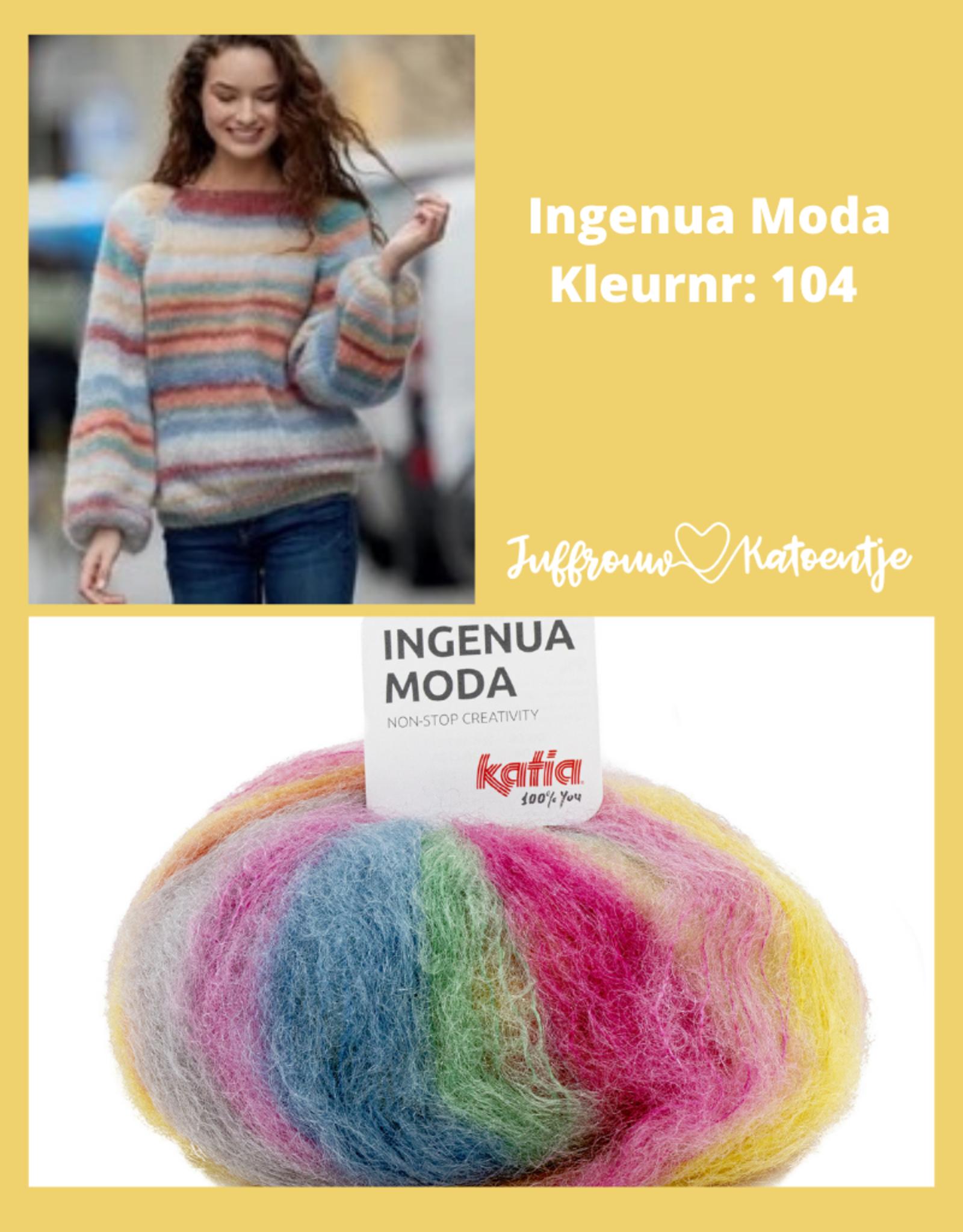Katia Ingenua Moda - Trui met pofmouwen