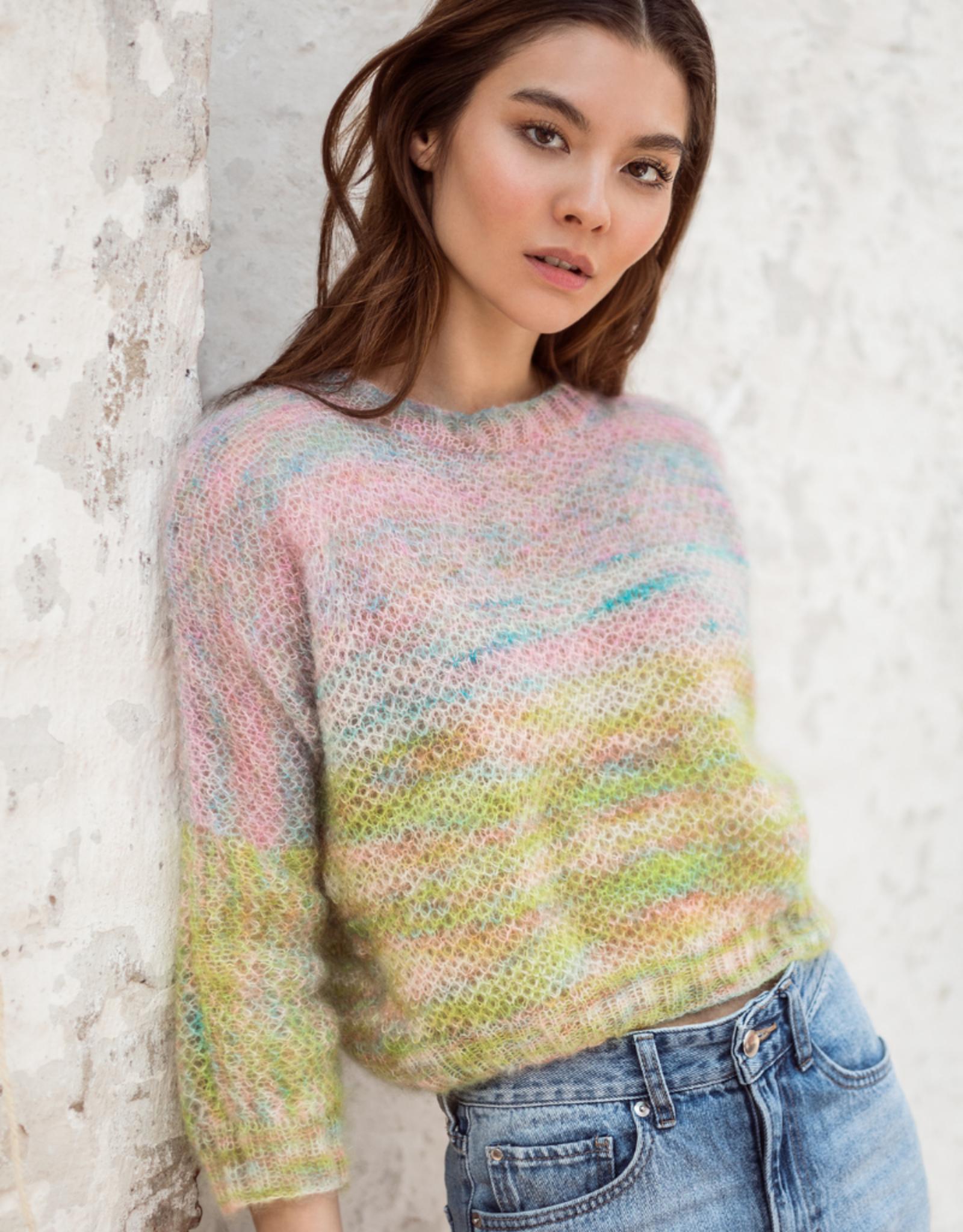 Lana Grossa Silkhair Hand-Dyed - Trui