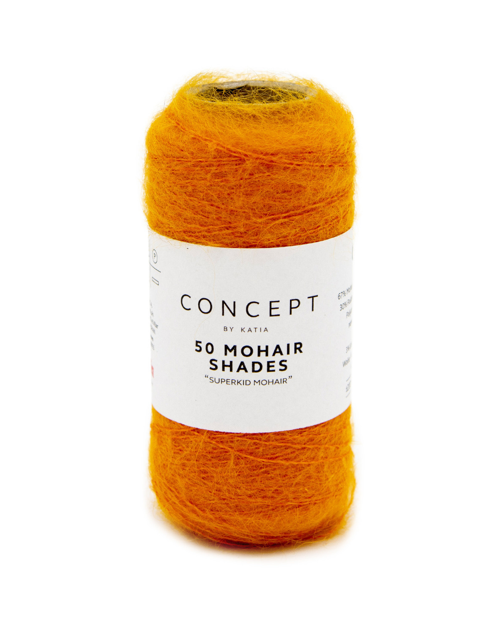 Katia 50 Shades of Mohair 47 Licht Oranje