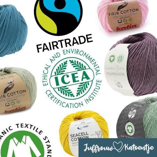 Biologische, gerecyclede, duurzame of FairTrade-garen?
