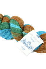 Lana Grossa Omslagdoek Cool Wool Lace Hand-dyed