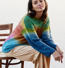 Lana Grossa Cool Wool Lace Hand-dyed trui