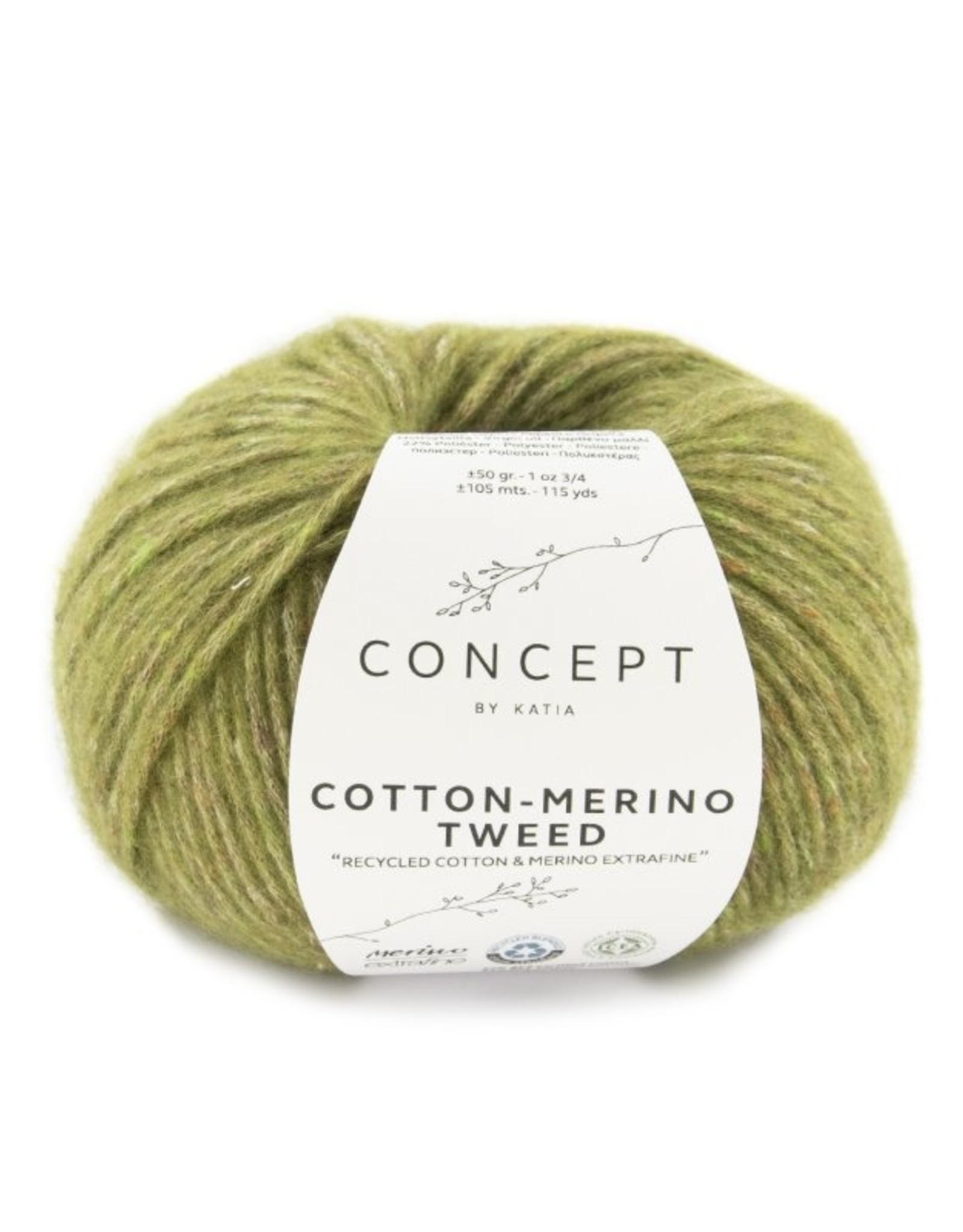 Katia Cotton -Merino Tweed