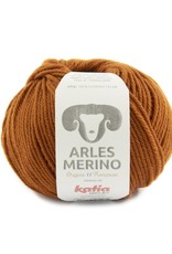 Katia Open vest met kabels en capuchon Arles Merino