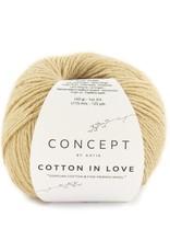 Katia Cotton in Love  spencer met hoge hals en zijsplitten