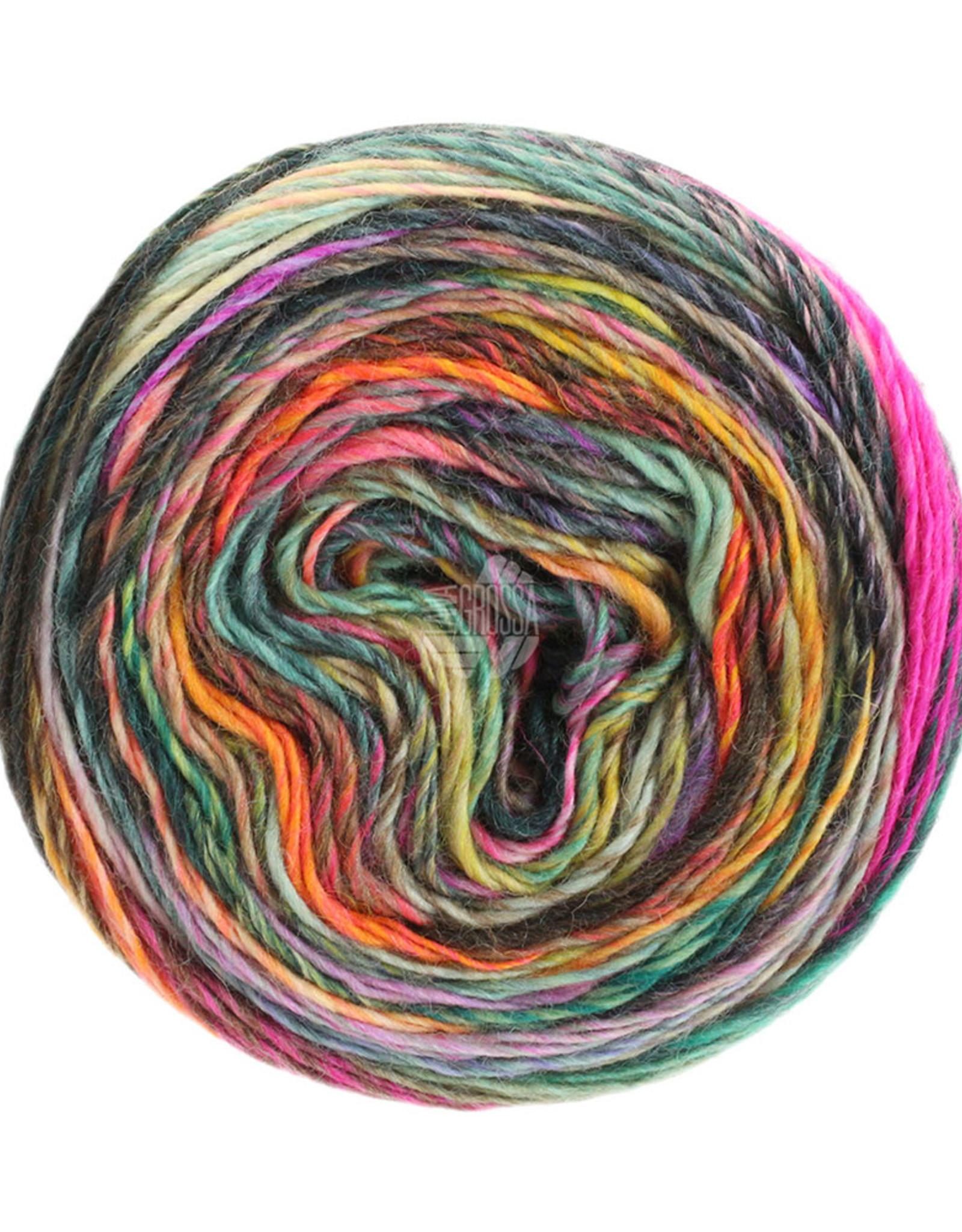 Lana Grossa Colorissimo trui in tricotsteek