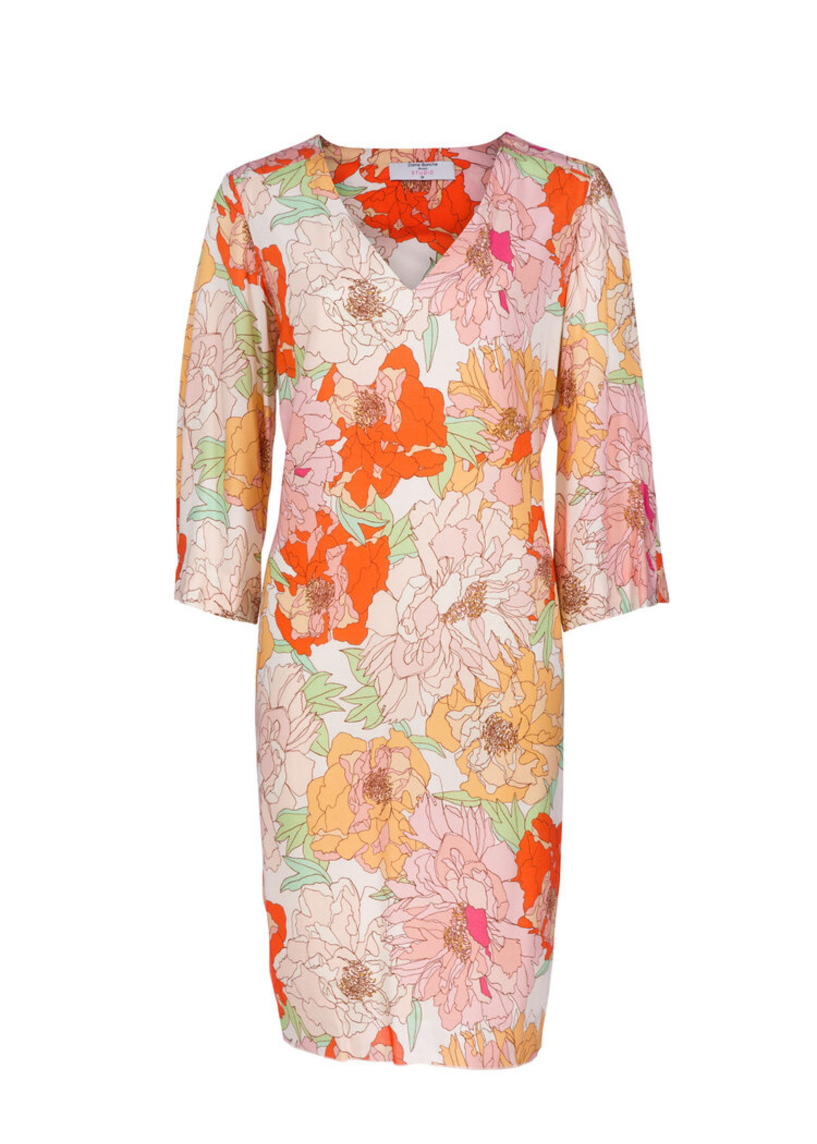 Dame Blanche Dress amiens flower