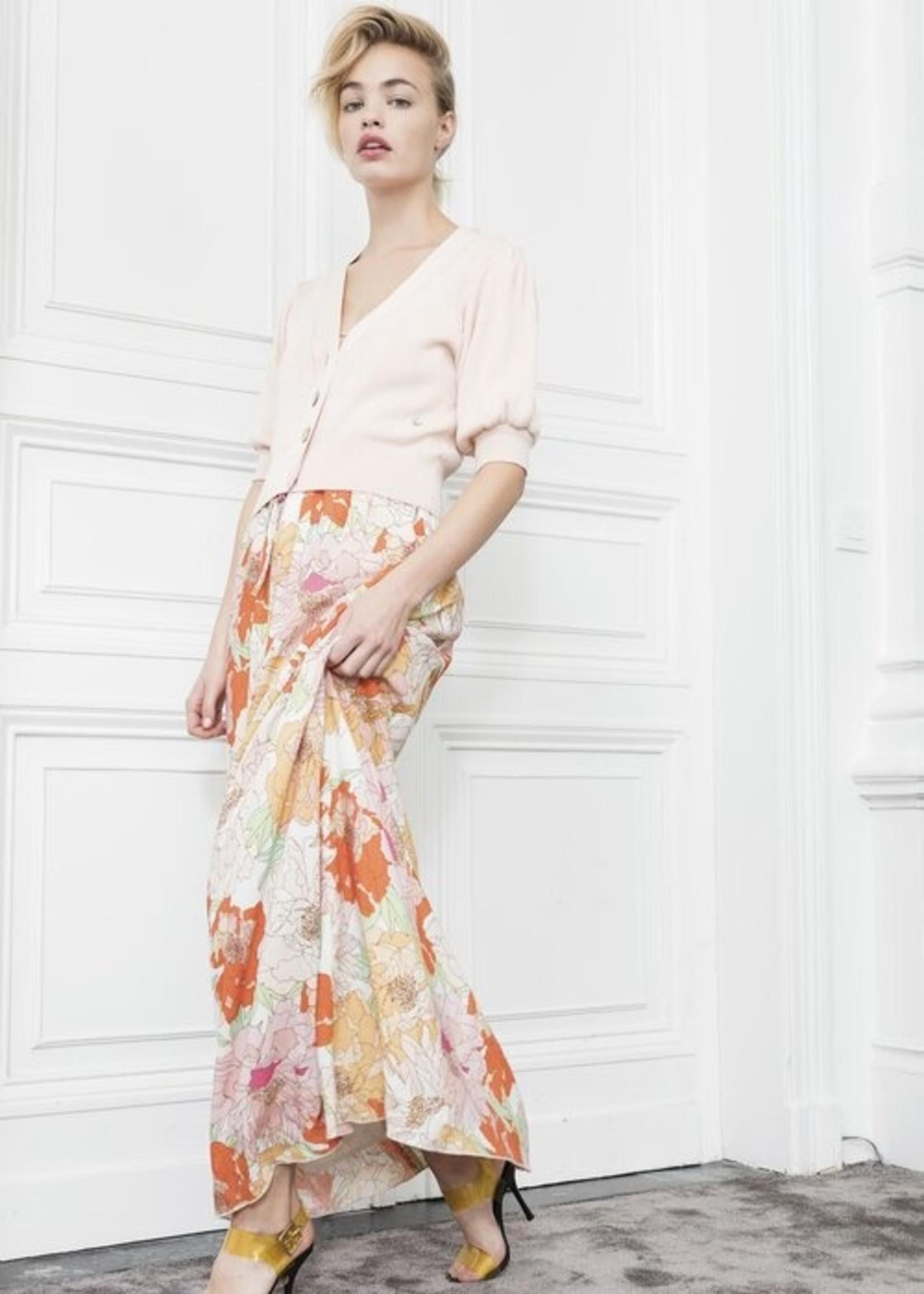 Dame Blanche Dress andorra flower