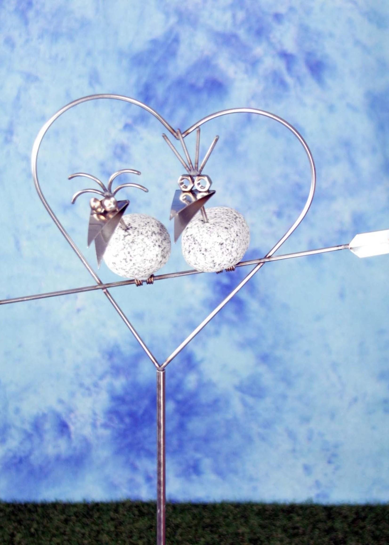 Lomprich Romantisch duo in hart op stok