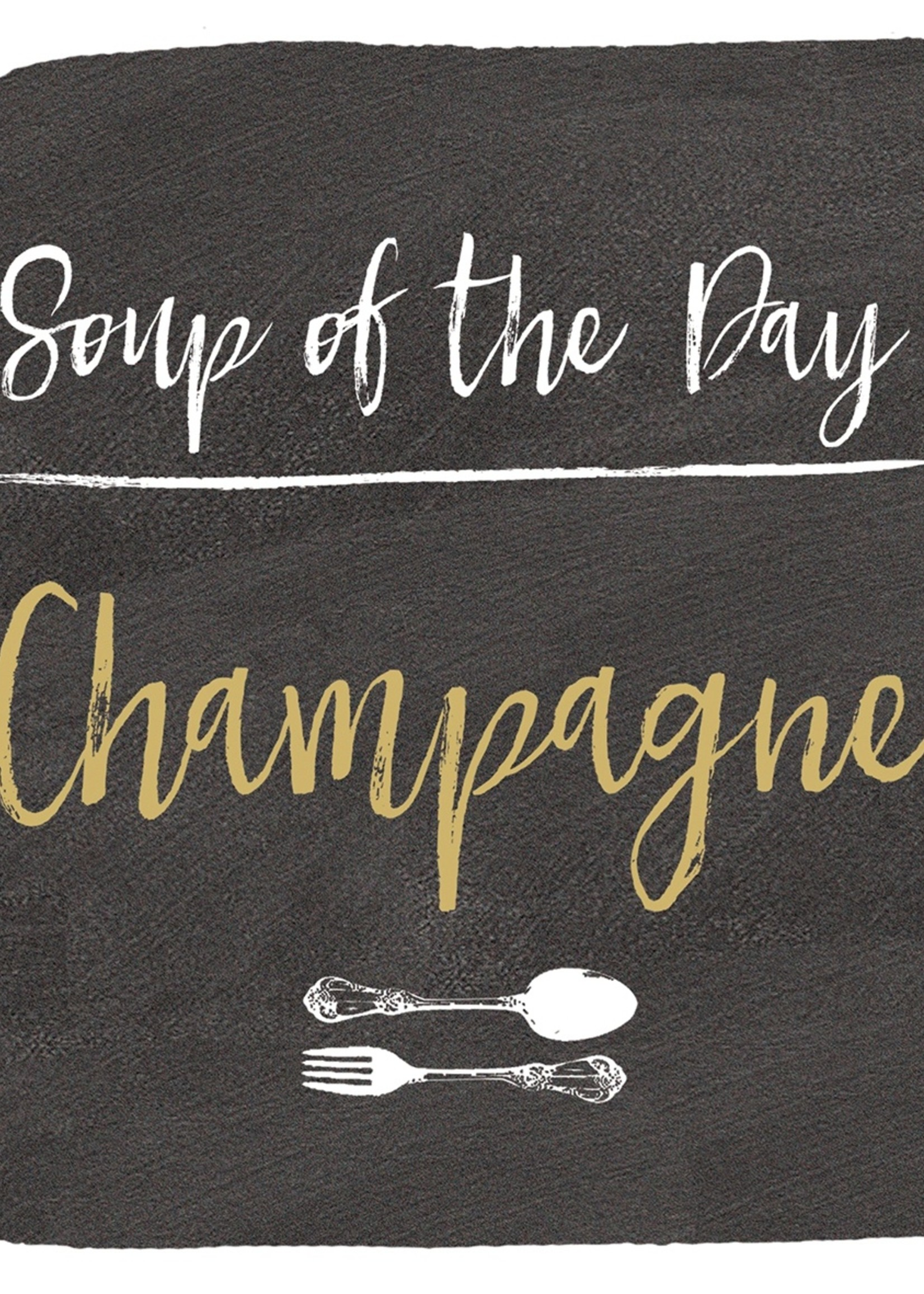 PPD Soup of the day Napkin 33x33