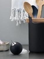 Eva Solo soap dispenser black