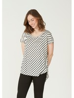 I Say Nugga stripe t-shirt