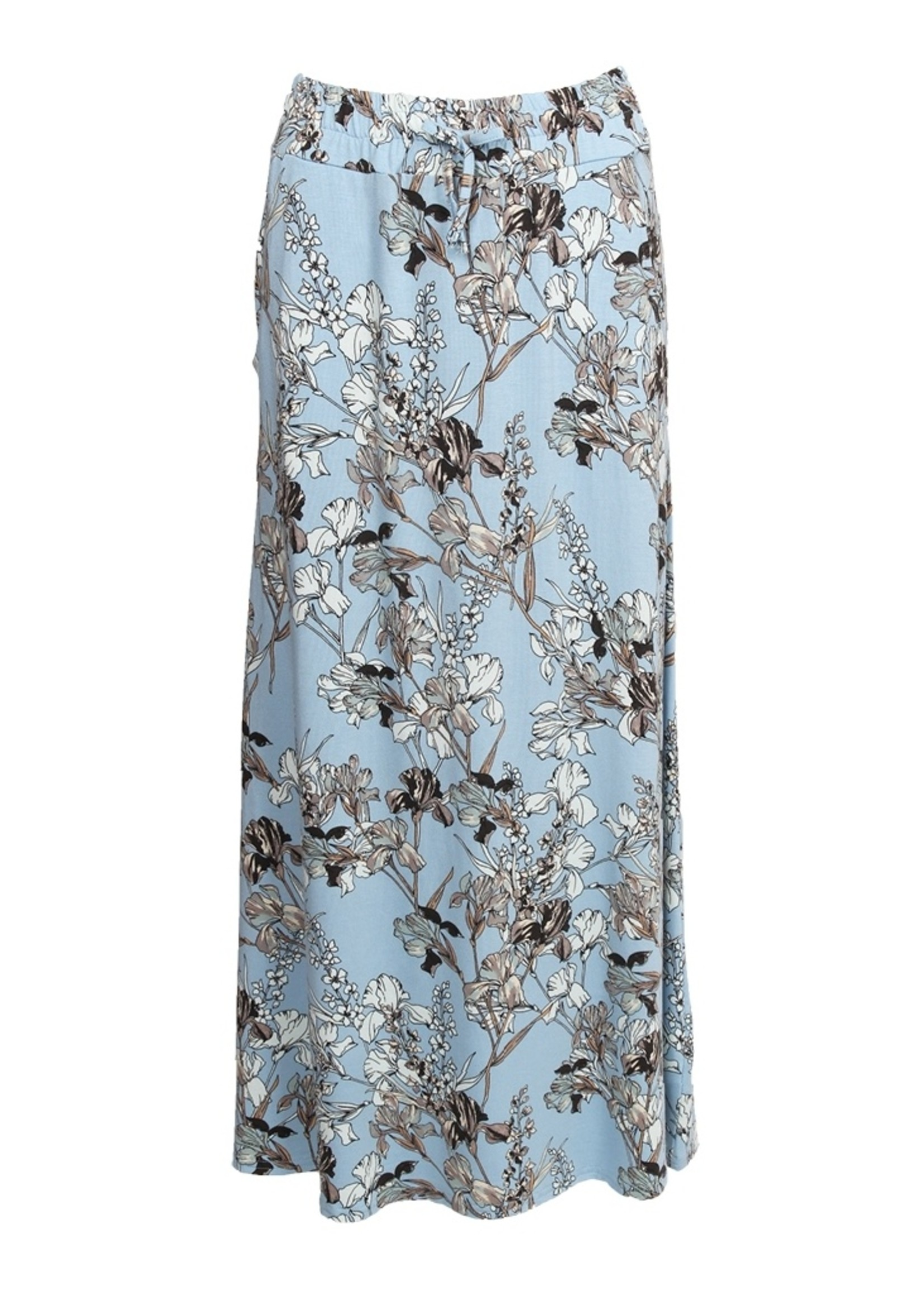 I Say Kalla jersey skirt  karma flower