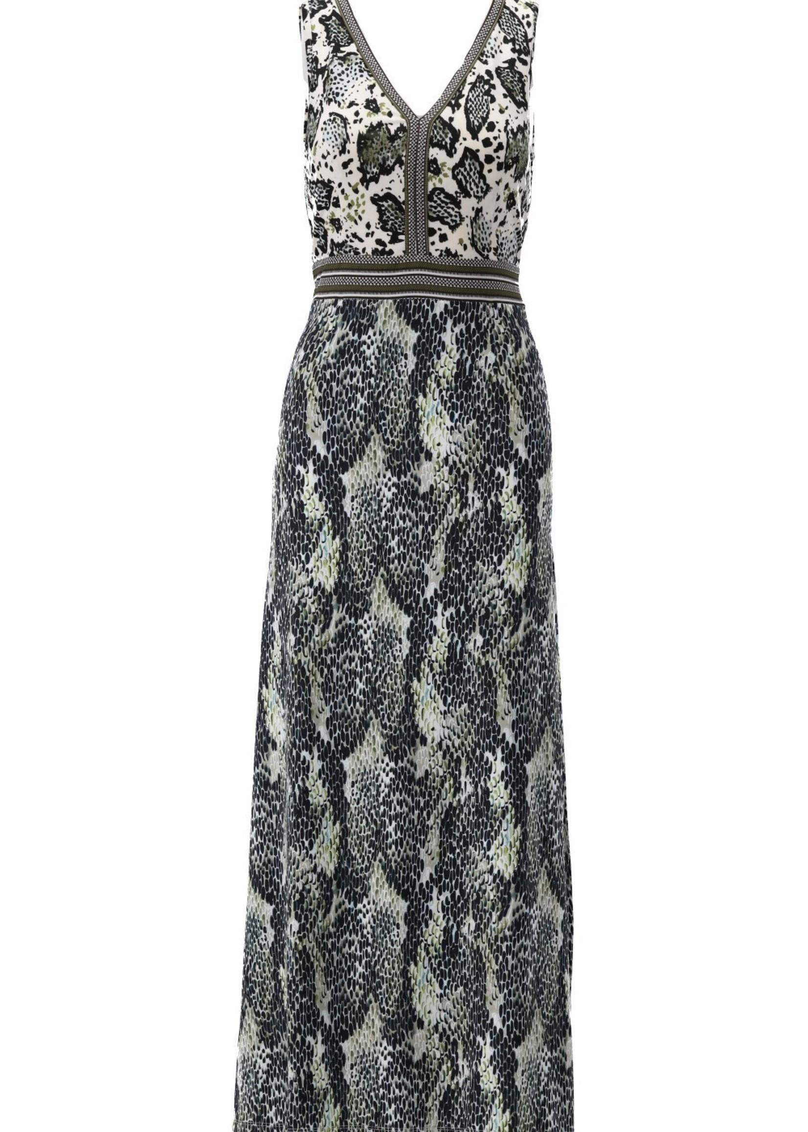 Kdesign Maxi dress snake S886 P172