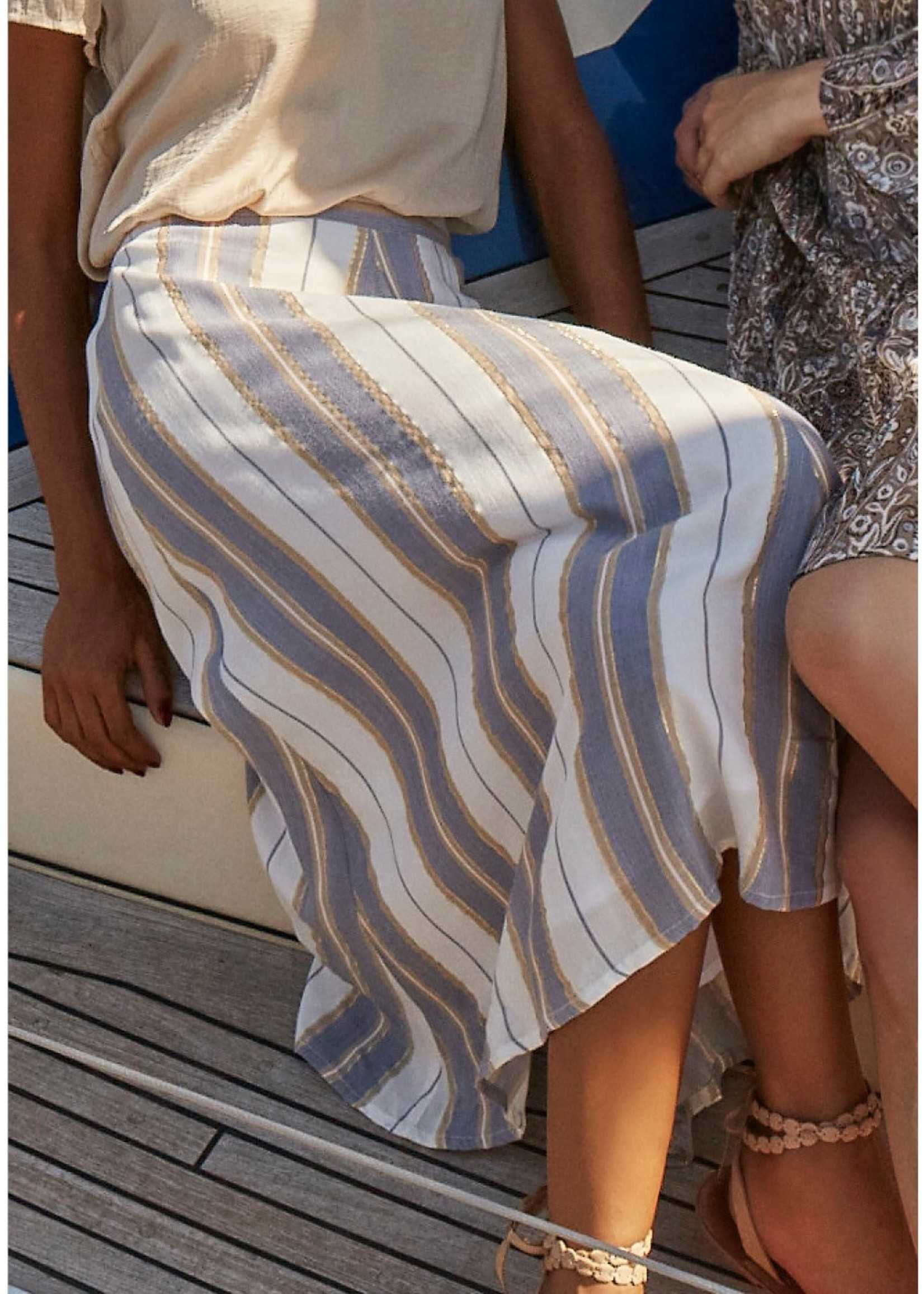I Say Kamma Skirt Stripe