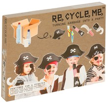 Piraten partijtje knutselpakket