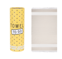 Towel to go - Beige