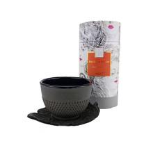 Tea set leaf