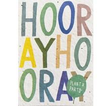 Send and Grow card - Hooray Hooray
