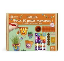 Birthday box - 10 small monster jars