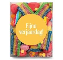 Candy box: Happy birthday!
